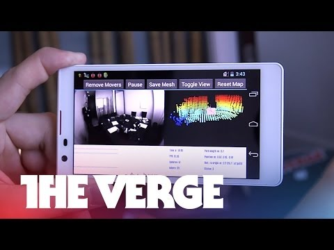 Exclusive: a first look at Google's Project Tango