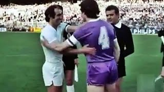 Real Madrid vs Castilla - Final Copa del Rey de fútbol 1979-80 - Juanito, Santillana, Del Bosque