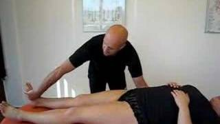 Examine for hyperkyfosis in the lumbar spine - Danish version