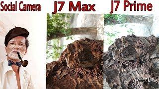 Galaxy J7 Max Vs J7 Prime Camera Comparison in Hindi // Social Camera mode