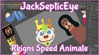 Behind the Scenes: JackSepticEye KING JACK Speed Animate
