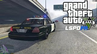 GTA 5 PC MODS - LSPDFR - POLICE SIMULATOR - EP 7 (NO COMMENTARY)