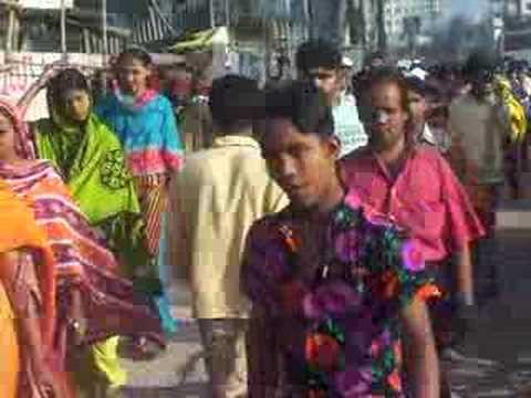 Dhaka Women Walking Street in Gulshan