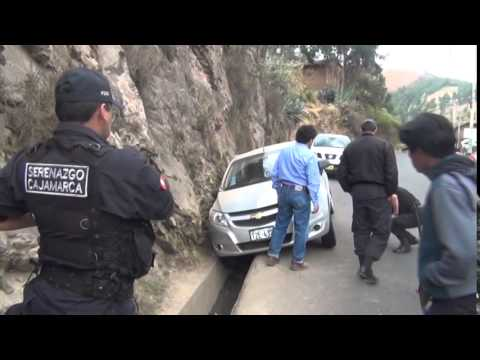 SERENAZGO CAJAMARCA - Racha de Accidentes de Tránsito/ 11-08-14