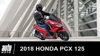 2018 Honda PCX 125 ESSAI Auto-Moto.com