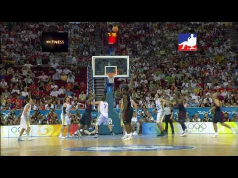 LeBron James:Beijing  Highlights We Are All WItnesses HD 1080i