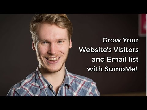 Grow Your Website's Visitors and Email List - SumoMe Review