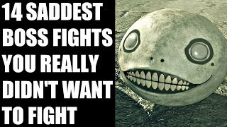 15 SADDEST Boss Fights You Really Didn't Want To Fight