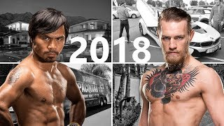 Conor Mcgregor vs Manny Pacquiao 2018 || Records - Net Worth - Cars - Houses - Lifestyle - 2017