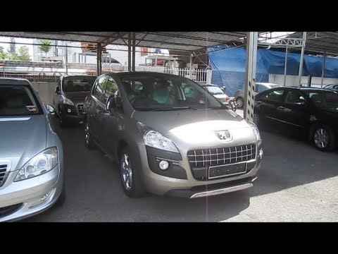2011 Peugeot 3008 Start-Up and Full Vehicle Tour