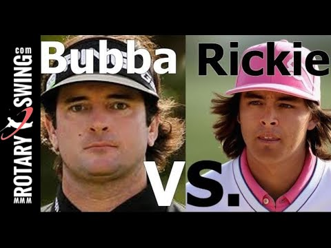 Golf Swing Analysis: Rickie Fowler vs. Bubba Watson (Golf's #1 Lag Instructor)