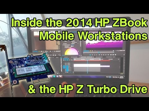 Inside the HP ZBook 14, 15 G2 and 17 G2 Mobile Workstation - 2014 HP Z Workstations First Look