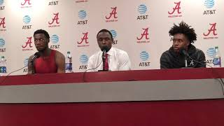 Alabama's Avery Johnson, Collin Sexton and Donta Hall | UT-Arlington postgame