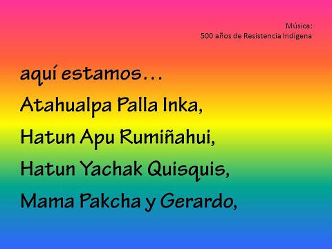 500 años de Resistencia Indígena - Musica con Letras