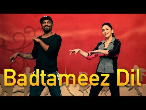 Remo DSouza dances to Badtameez Dil!
