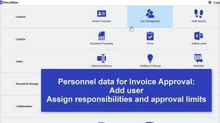 • How to configure DocuWare Kinetic Solution for Invoice Processing