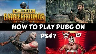 How To Play PUBG On PS4? #GS4