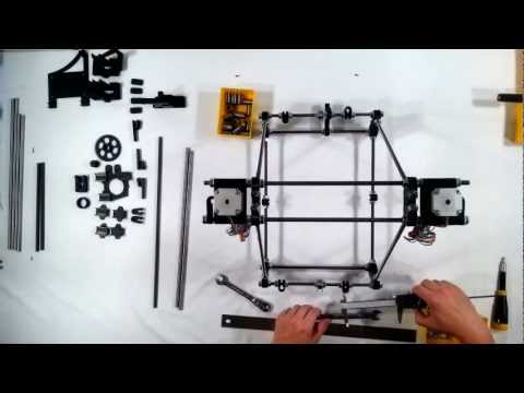 RepRap Prusa Mendel Iteration 2 Assembly 06 - Y Axis
