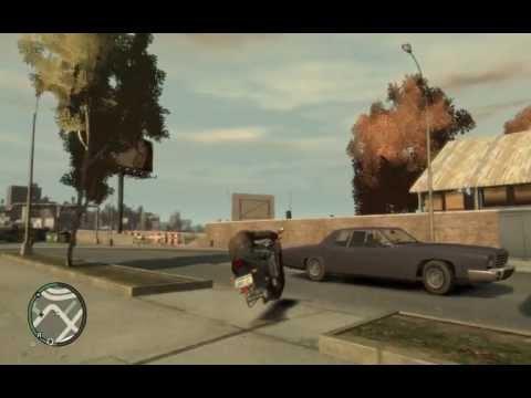 GTA IV - Hover Bike Glitch [HD]