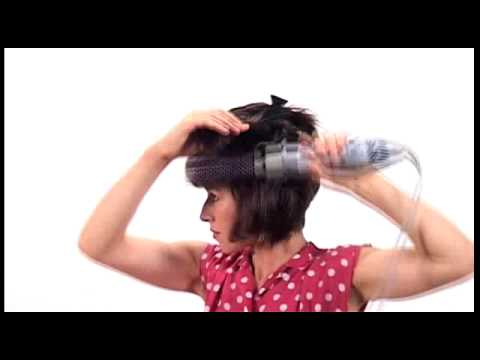 Hair At Home Blow Dry With Hot Air Brush YouTube