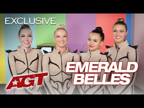 Emerald Belles Are Bringing New Flare To High Kick! - America's Got Talent 2019