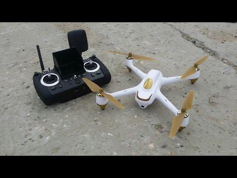 FPV квадрокоптер HUBSAN H501S ... Следуй за мной, GPS, RTH, 4,3, OSD