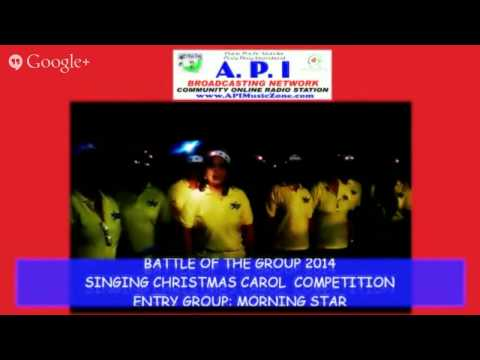 API BROADCASTING NETWORK & GIFT2CARE.ORG PRESENT BATTLE OF THE GROUP 2014 SINGING CHRISTMAS CAROL...