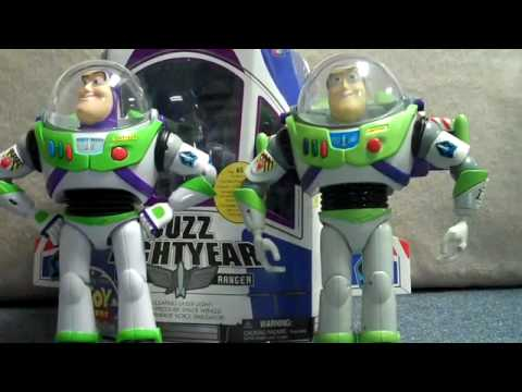 Toy Story Collection Buzz Lightyear Short Review with COMPARISON