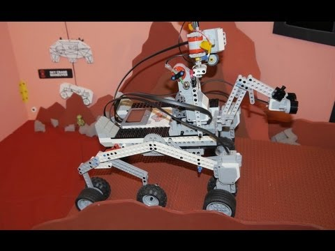 EV3 Mars Curiosity - Science Fair Mash Up