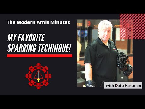 Modern Arnis Minute #1 - Favorite Sparring Technique Image 1