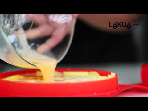 Lékué TV | SpanishOmelette | Receta: Tortilla de patata y cebolla (al microondas)