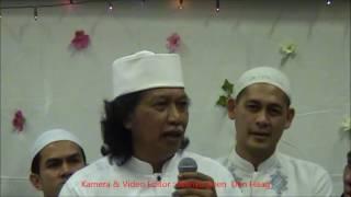 Cak Nun di PPME Al Ikhlash Amsterdam  Maulid Nabi. By Wahyu Koen