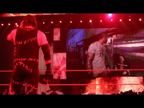 Randy Orton kidnaps Kane's father, Paul Bearer: Raw, April 23, 2012