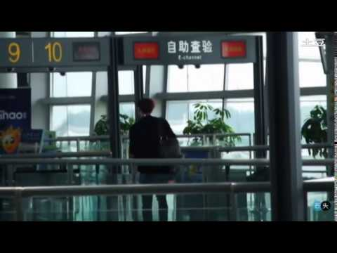 Fancam 120902 Lay @ Changsha Airport