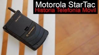 Motorola StarTac, anunciado en 1996   Historia Telefonía Móvil