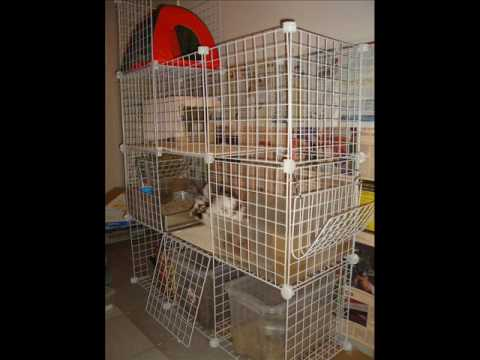 New Improved C Amp C Cage Condo For Rabbits Youtube