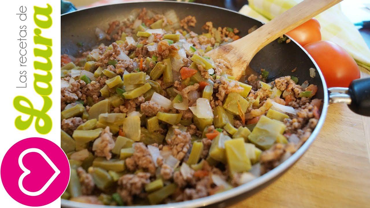 Carne de res a la mexicana comida saludable youtube for Comidas ricas y faciles de preparar