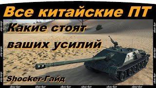 Обзор китайских ПТ-САУ, лютая ИМБА на 7 лв!