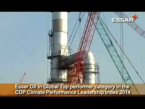 Essar Oil in Global Top performer category in the CDP Climate Performance Leadership Index 2014