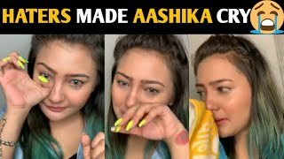 AASHIKA BHATIA LIVE talking about SATVIK SANKHYAN and fans | Emotional