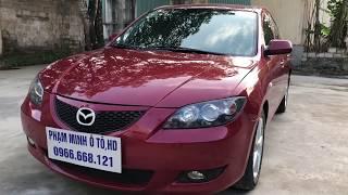 Mẫu xe Mazda3 sx 2005 mắy 1.6 AT số tự động, giá 260t(Xe Đá Bán)