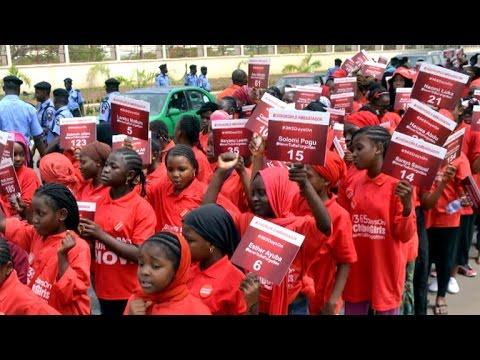 One year later: Nigerian schoolgirls still missing