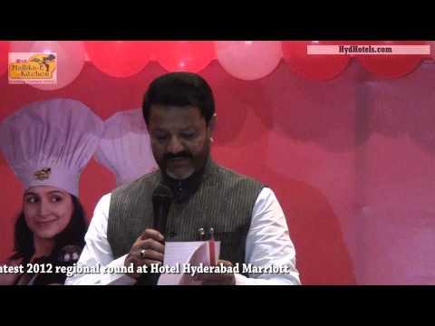 Lg Mallika-e-kitchen Cooking Contest 2012  At Hotel Hyderabad Marriott video