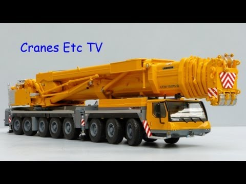 Cranes Etc TV: WSI Liebherr LTM 1500-8.1 Mobile Crane Review