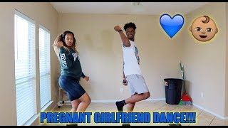 TEACHES PREGNANT GIRLFRIEND HOW TO DANCE!!!