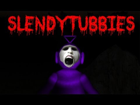 SLENDER+TELETUBBIES - SlendyTubbies Scary Horror Game by Whiteboy7thst - YouTube