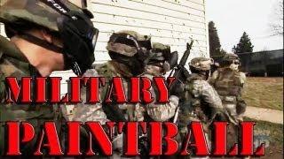 Military Paintball Training
