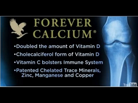Forever Calcium for strong bones and teeth
