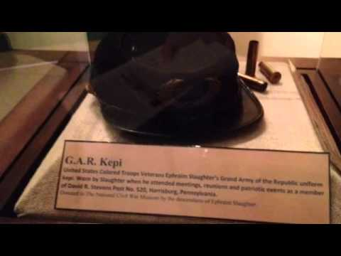Why National Civil War Museum chose later in life portrayal of Ephraim Slaughter