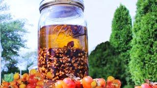 DIY Rosehip Natural Herbal Oil || Anti-ageing Facial Oil || Youthful Skin  || Natural Beauty Recipe